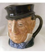 Royal Doulton Mr. Micawber Dickens character mug jug, 4 inches tall - $99.99