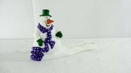 Department 56 Snowman Sign Holder Display Piece - $9.89