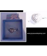 Sterling Silver 925 MY HEART Ring NIB SZ 8 - $12.99