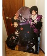1984 ORIGINAL PRINCE PURPLE RAIN MOTORCYCLE 4FT STANDEE DISPLAY W/ORIGIN... - $699.99