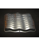 Wilton Cake Pan: American Flag Stars and Stripes 2105-183 - $10.00