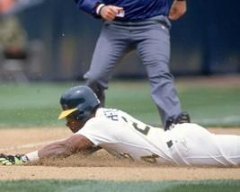RICKEY HENDERSON 8X10 PHOTO OAKLAND ATHLETICS A's MLB BASEBALL PICTURE S... - $3.95