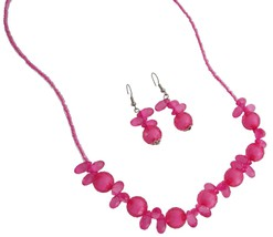 Discount Price Fine Girls Jewelry In Pink Beads - $8.18