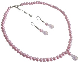 Gift for Daughter Christmas Gift Pink Pearls Jewelry - $12.73