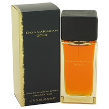 Donna Karan Gold Perfume 1.7 Oz Eau De Toilette Spray  image 2