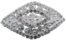 Vintage Style Bridal Crystals Clear Rhinestone ... - $12.08