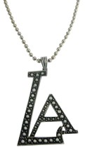 Stunning LA Pendant Affordable Hip Hop Jewelry - $10.78