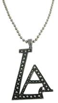 Stunning LA Pendant Affordable Hip Hop Jewelry - $10.78