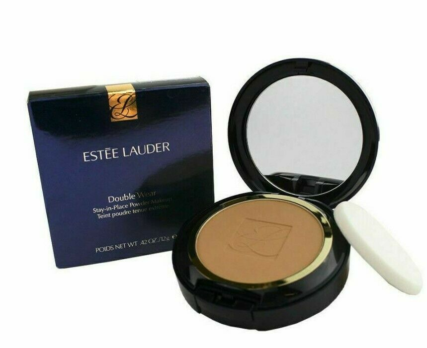 ESTEE LAUDER Double Wear Stay-In Place Powder Makeup 4W2 Toasty Toffee - $32.71