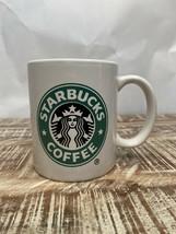 Starbucks Mermaid Logo Ceramic Demi Small 8 OZ Coffee Tea Mug 2008 - $11.88