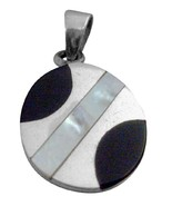 Confetti Round Mother Of Pearls Pendant Christmas Gift - $15.98