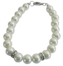 Flower Girl Wedding Jewelry Superb Price Ivory Color Pearls Bracelet - $8.83