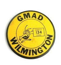 VTG General Motors Assembly Div GMAD Wilmington  Button Pin Quality 134 ... - $26.00