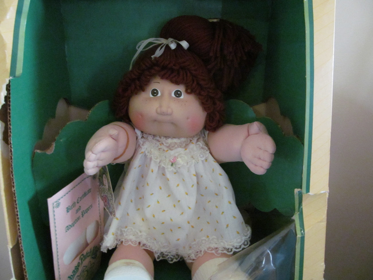 CABBAGE PATCH KID 1983 NEVER OUT OF BOX