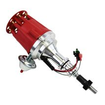 Pro Series R2R Distributor for Ford SBF 260 289 302 V8 Engine Red Cap image 6