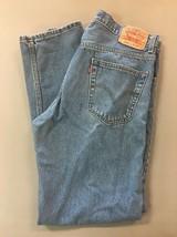 Levi 505 Regular Fit Straight Leg Men's Denim J EAN S - Size 36X32 B37 - $18.37