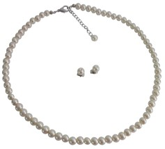 Gorgeous Fine Jewelry Ivory Pearls Bridesmaid Jewelry Party Gifts - $9.48