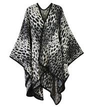 Classic Leopard Print Ruana - $21.99
