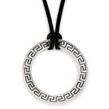 951247 meander greek key silver large necklace 1 thumb200