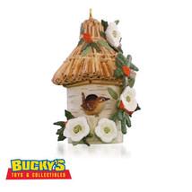 A Home for Wren 2015 Hallmark Marjolein's Garden Ornament 2 Bird Birdhou... - $15.79