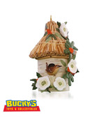 A Home for Wren 2015 Hallmark Marjolein's Garden Ornament 2 Bird Birdhou... - $15.79