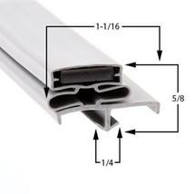 Commercial Refrigeration Gasket Glenco-Star Metal SHFA50R Part# (SP-691-2) - $35.09