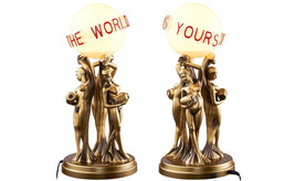 SUPREME X Scarface 'The World Is Yours' Desk Lamp (Sold Out in Supreme S... - $370.00