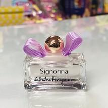 Signorina Salvadore Ferragamo, 0.17 fl.oz / 5 ml eau de toilette, splash... - $15.00