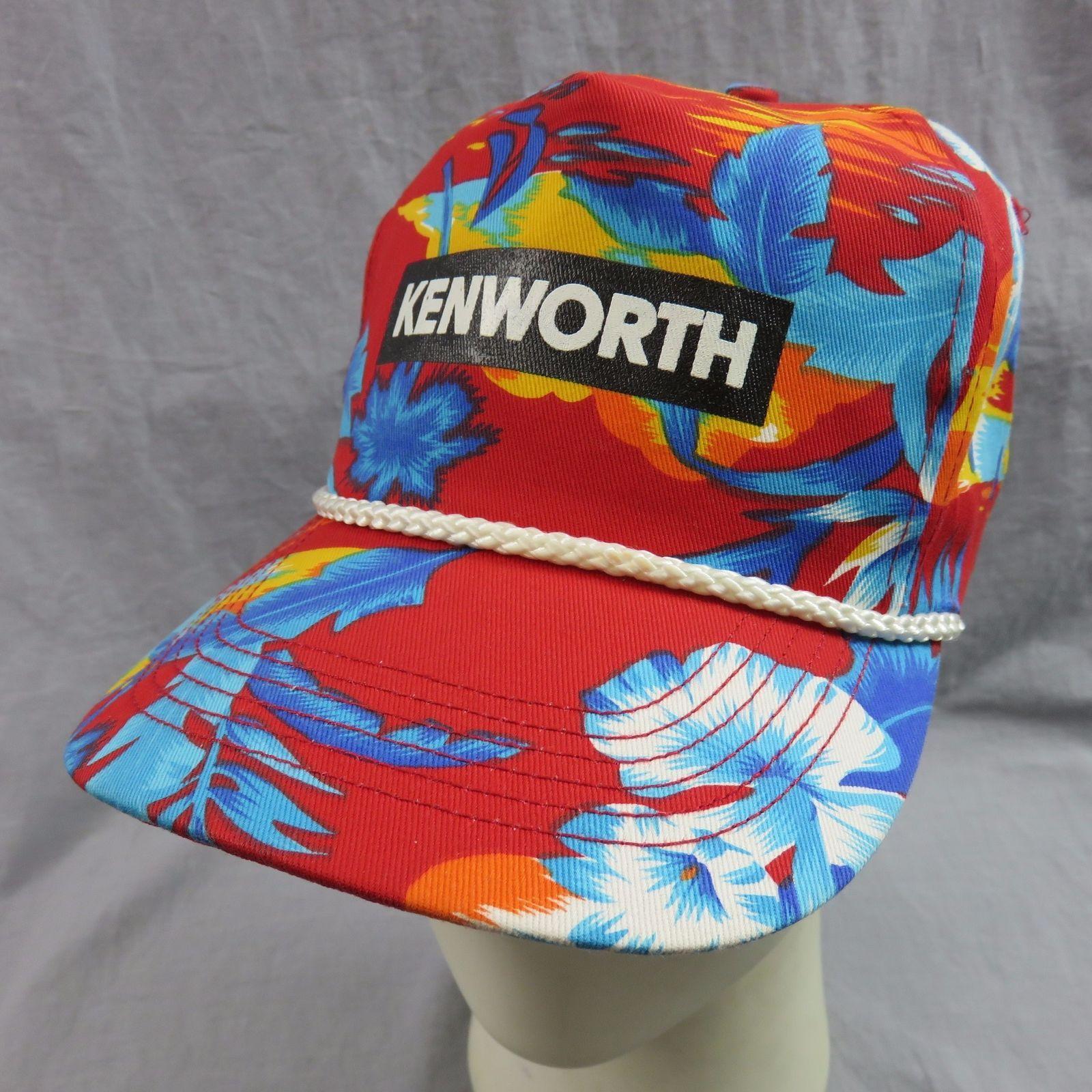 0fd9d12d Kenworth Trucks Hawaiian Floral Snapback Cap and 50 similar items. S l1600