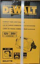 DeWalt DCL077B Compact Task Light TOOL ONLY 12V 20V Lithium Ion CORDLESS Pkg 1 image 6