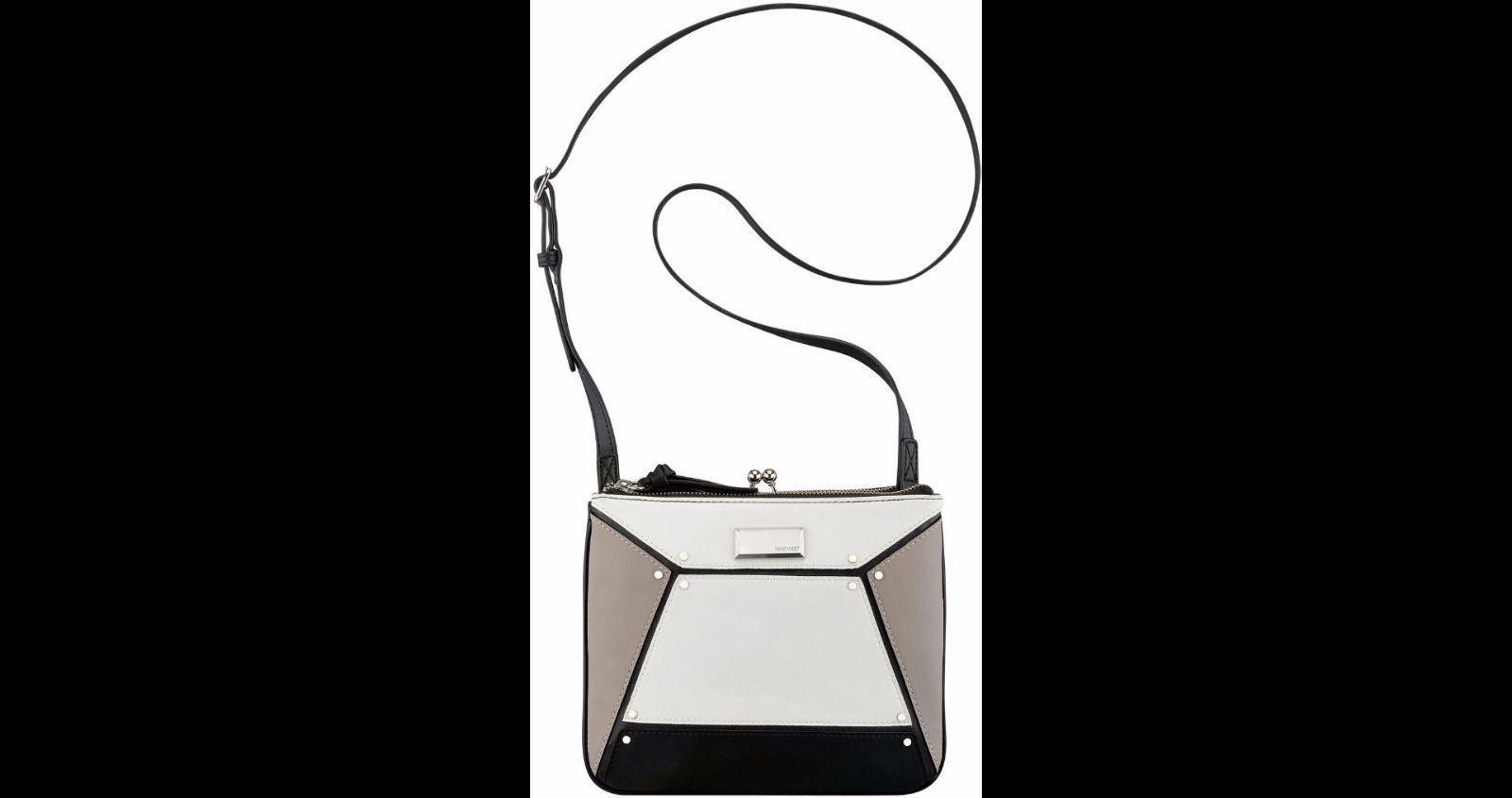 Nine West Nailed It Cross Body Bag, Black Multi, One Size Handbag