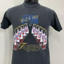 Vintage Dream Team T Shirt Olympics USA Basketball Tee Nutmeg 90s NBA - $44.00