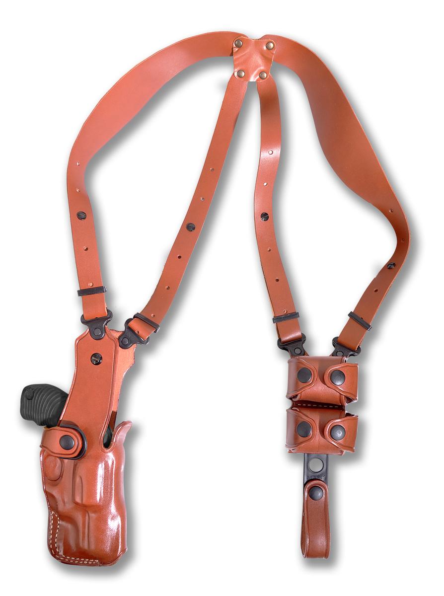 "21/"" Expandable Baton Shoulder Holster /& Handcuff Case"