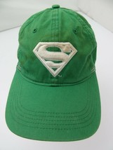Superman Green White Adjustable Adult Cap Hat - $12.86