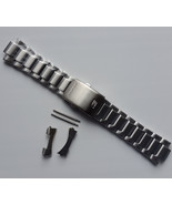 Genuine Replacement Watch Band 23.5mm Stainless Steel Bracelet Casio EF-... - $45.60