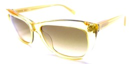 Calvin Klein Sunglasses CK 4186S 086 Clear Yellow 54x16x135 Brown Gradient - $31.37