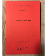 Levine Uncorrected proof - Donald E. Westlake - $29.40