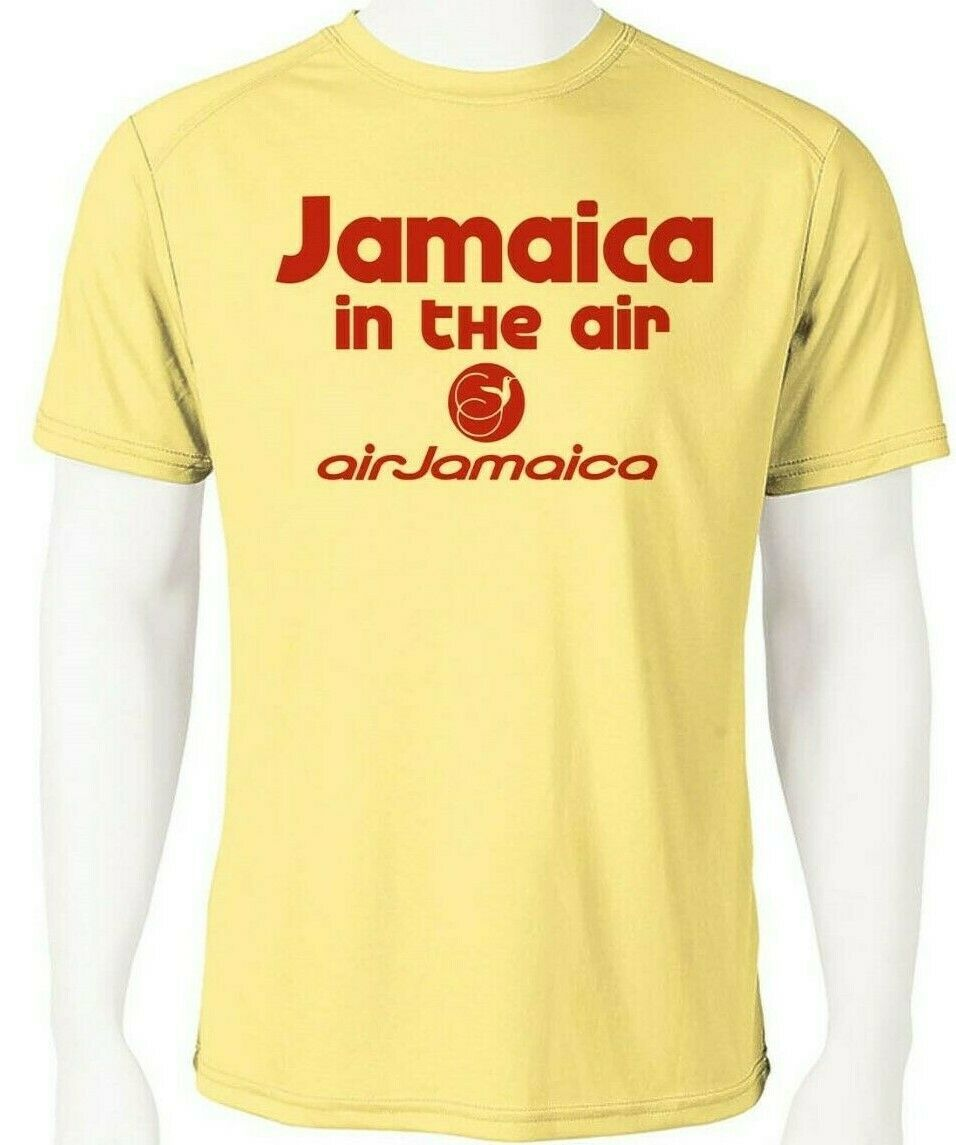 Air Jamaica Dri Fit graphic Tshirt moisture wicking SPF raggae rasta Sun Shirt