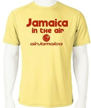 Air Jamaica Dri Fit graphic Tshirt moisture wicking SPF raggae rasta Sun Shirt image 1