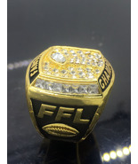 Otball championship ring trophy prize super bowl championship ring for fans size 8 9 5 thumbtall