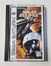 Solar Eclipse - Sega Saturn Video Game CIB Complete -Babylon 5 Claudia C... - $53.41