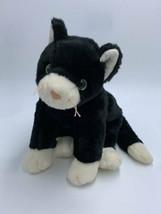 Ty Classic Beanie Buddy Zip The Black White Kitty Cat Plush Stuffed Animal 1999 - $9.99