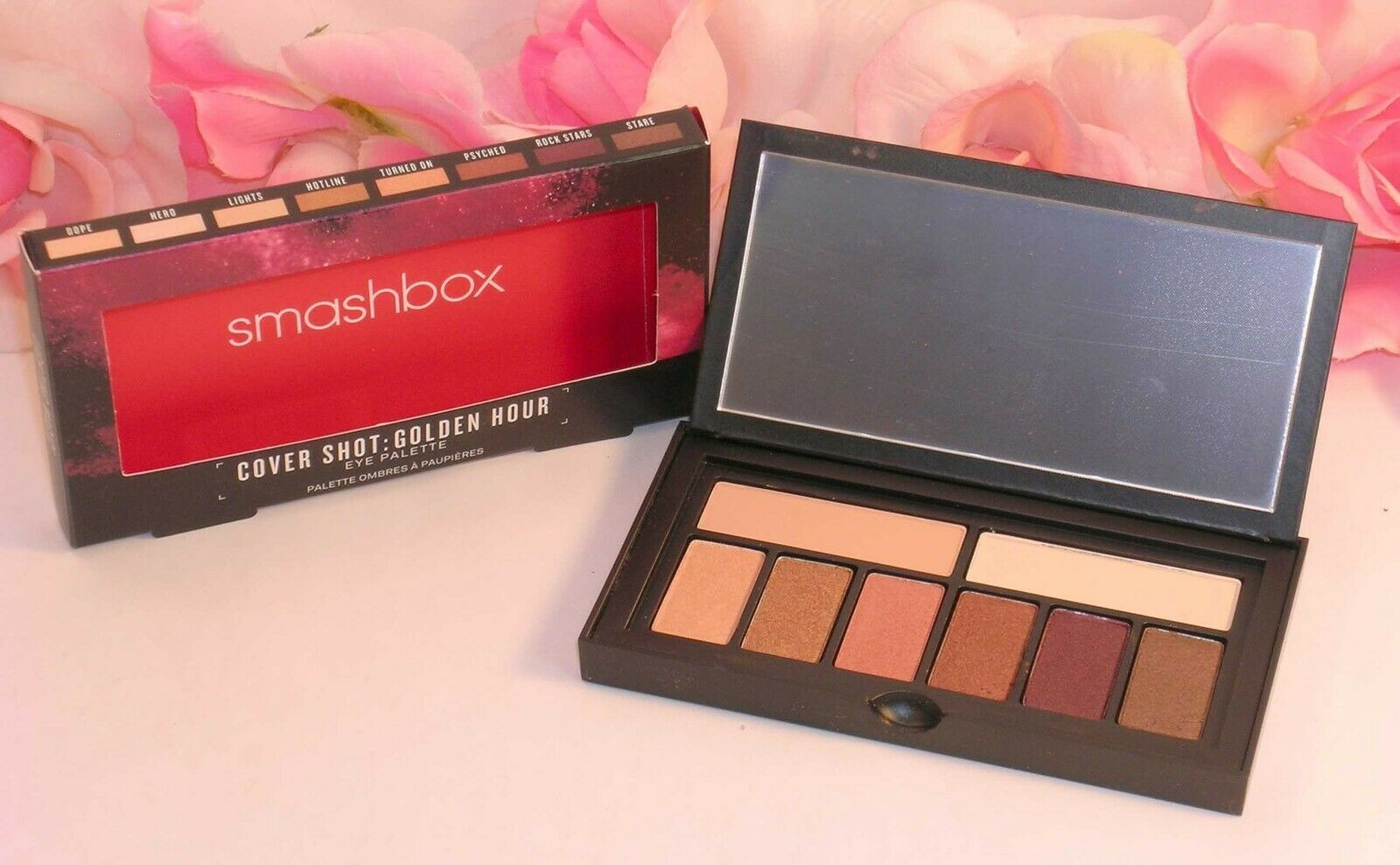 Primary image for New Smashbox Cover Shot Golden Hour Shadow Palette 8 Shades .27 oz / 7.8 g