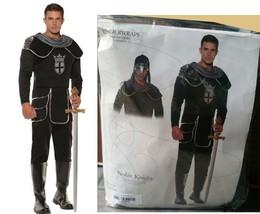 Noble Knight Mens Adult Halloween Costume &Hood Medieval Renaissance Und... - ₹1,916.68 INR
