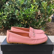Brand New Coach Women's Blossom Mavis Leather Loafer G4581 Size 6 - $172.98