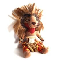 The Lion King Broadway Musical Collectible Simba Disney Plush Doll Bean ... - $9.89