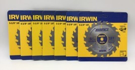 "(New) Irwin Marathon 5-3/8"" 18 T Circular Blade 14015 Pack of 7 - $68.30"