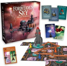 Forbidden Sky – The Cooperative Strategy Survival Rocket Building Board ... - $33.94