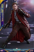 Hot Toys Star-Lord (Deluxe Version) 1/6 Scale Collectible GUARDIANS OF G... - $512.34