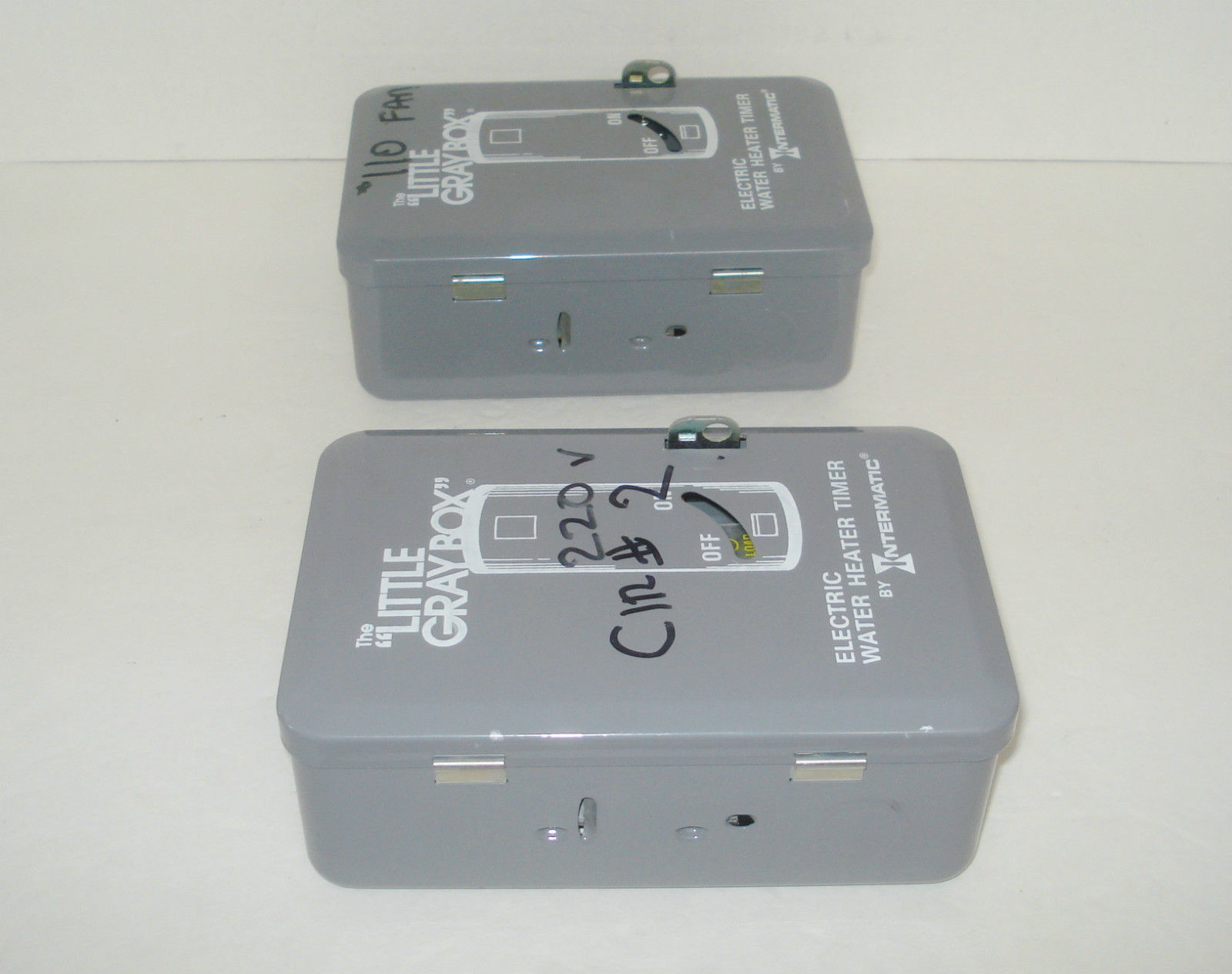 set of 2 intermatic wh40 electric water heater timer ... 1991 buick fuse box diagram